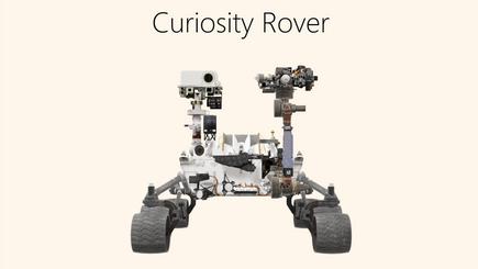 Koncepční obrázek sestavy 3D Rover