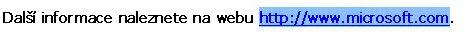 Vybraná webová adresa