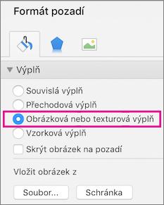 PowerPoint pro Mac – Formát pozadí