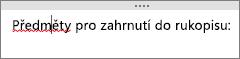 OneNote automaticky hledá potenciální pravopisné chyby