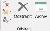 Archivace jedním kliknutím