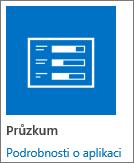Ikona aplikace průzkumu zahrnutých ve službě SharePoint