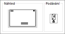 Informační kanál tiskárny