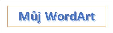 Příklad WordArt