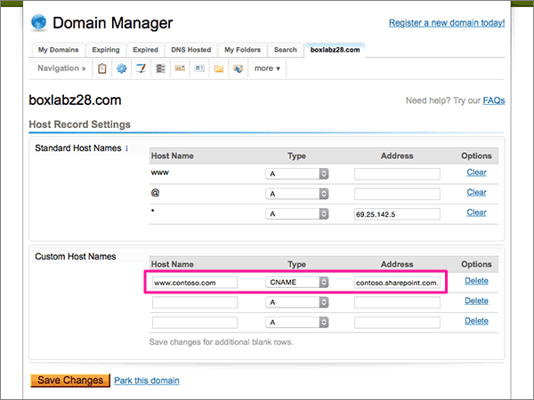 DomainExplorer-doporučených postupů – konfigurace 3-4