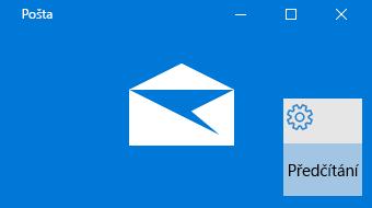 Základní informace o Poště pro Windows 10 a programu Předčítání