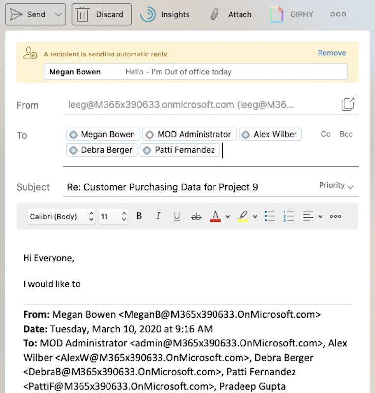 Tip pro e-mail k automatickým odpovědím