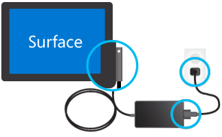 Test forbindelser på USB-oplader.