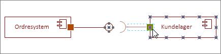 Obligatorisk grænsefladefigur fastklæbet til komponentfigur
