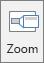 Viser knappen Zoom på fanen Indsæt i PowerPoint.