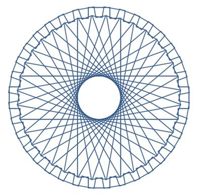 En anden spirograph-variation