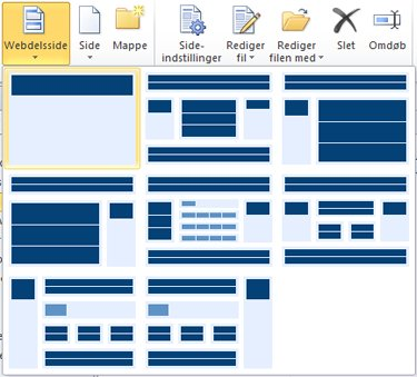Tilføj sider i SharePoint Designer 2010