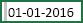 Celle med mellemrum, der er valgt, før 1/1/2016