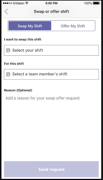 Send anmodning