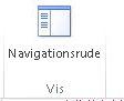 Vise knappen for navigationsrude i Access