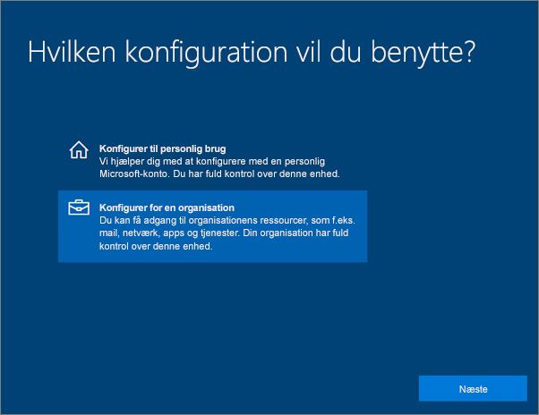 Konfigurer Windows-enheder til brugere af Microsoft 365 Business - Office Support
