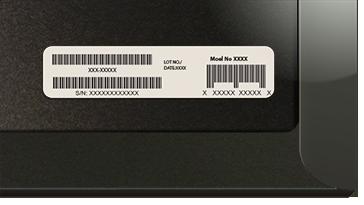 Stregkode på Surface Cover-emballage