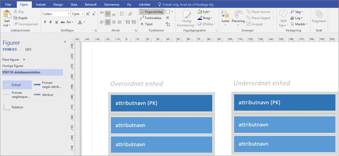Angiv attributnavnet for den primære nøgle i det overordnede objekt.