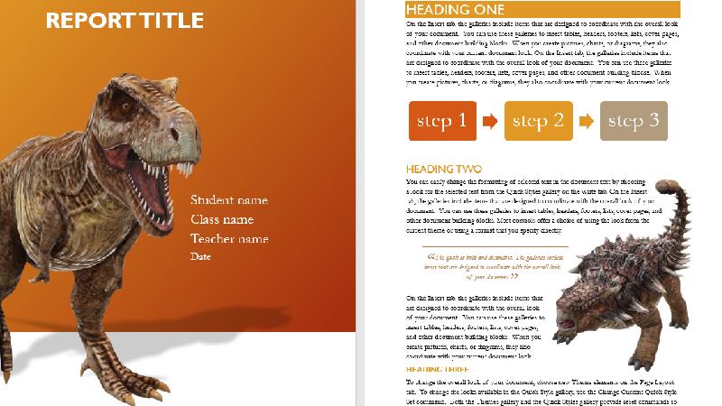 Illustration af forsiden på en 3D-modelskabelon