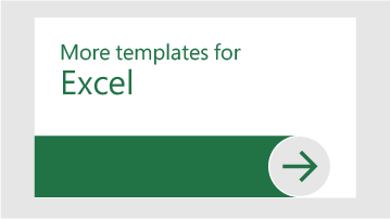 Flere skabeloner til Excel
