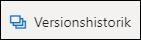 Knappen Versionshistorik på båndet i OneDrive