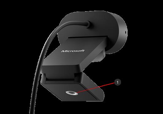 Stativmontering af Microsoft Modern Webcam