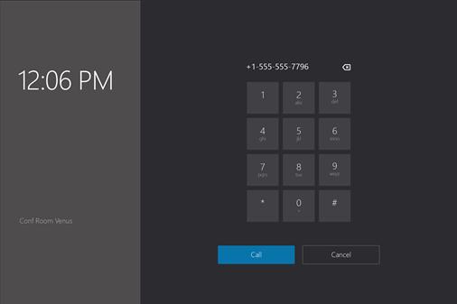 Numerisk tastatur vindue