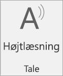 Ikonet Højtlæsning
