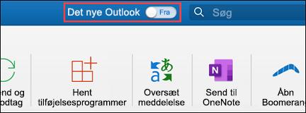 Ny Outlook til Mac