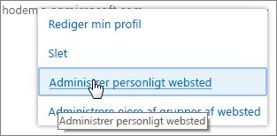 Administrere ejere af grupper af websteder