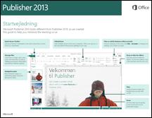 Startvejledning til Publisher 2013