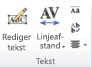 WordArt-tekstgruppe i Publisher 2010