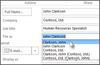 Klik i feltet til højre for Arkivér som, og vælg det ønskede format.
