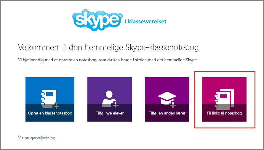 Få links i Mystery Skype