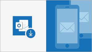Oversigtsark til Outlook til iOS og indbygget mail