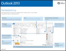 Startvejledning til Outlook 2013