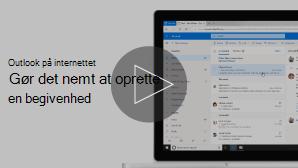 Miniaturebillede af Opret begivenheds video