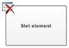 Slet element