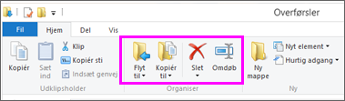 Åbn den mappe, hvor den downloadede fil er placeret.