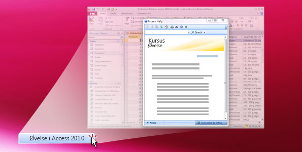 Øvelse i Access 2010