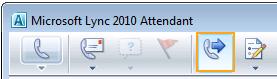 Attendant-ikonet Viderestilling af opkald