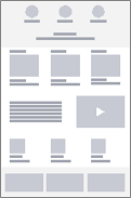 Virksomhedstrådrammediagram