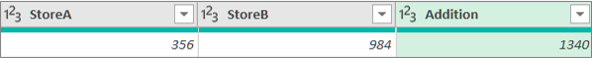 Tilføje en kolonne for at lægge to tal fra to kolonner sammen