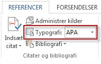 apa referencer