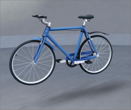 webdel til 3D-objekt