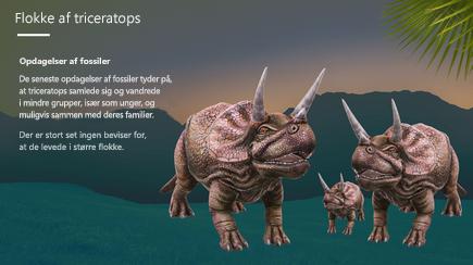Skærmbillede af forsiden på en 3D-PowerPoint-skabelon