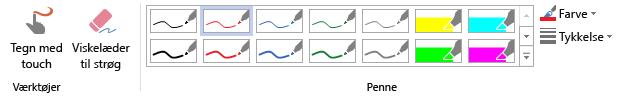 Tegnefunktioner i Visio Pro til Office 365