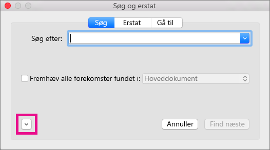 Se, hvordan du kan åbne pop op-menuen Formatér