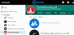 Føj gæster til dine Office 365-grupper