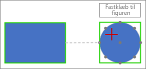Opret forbindelse til målfiguren med en dynamisk forbindelse